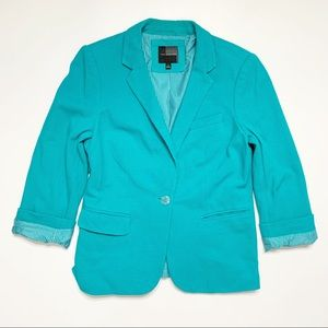 The Limited Turquoise Blazer Size Small